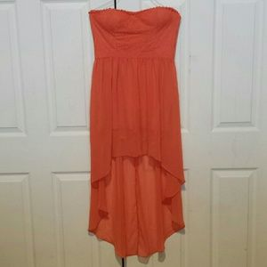Forever 21 Exclusive high low dress size Large